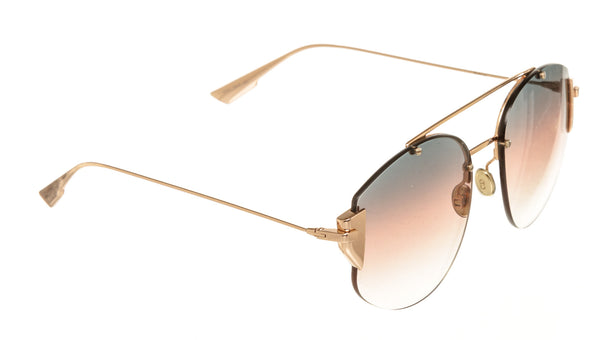 Dior Reflected Sunglasses Blue and Gold