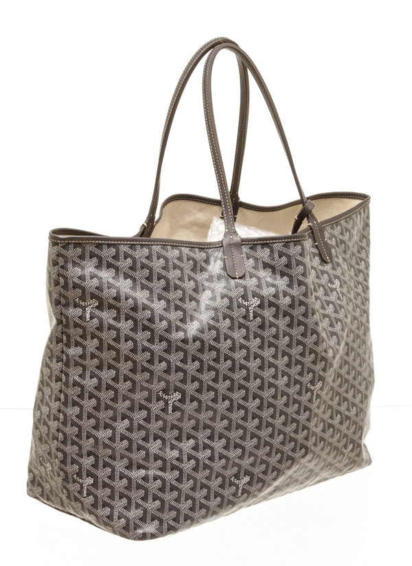 Goyard Gray Saint Louis GM Tote