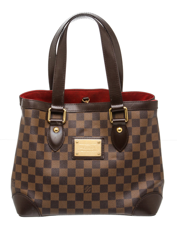 Louis Vuitton Brown Damier Ebene Hampstead PM Handbag