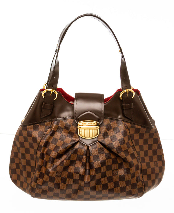 Louis Vuitton Damier Ebene Sistina GM Shoulder Bag