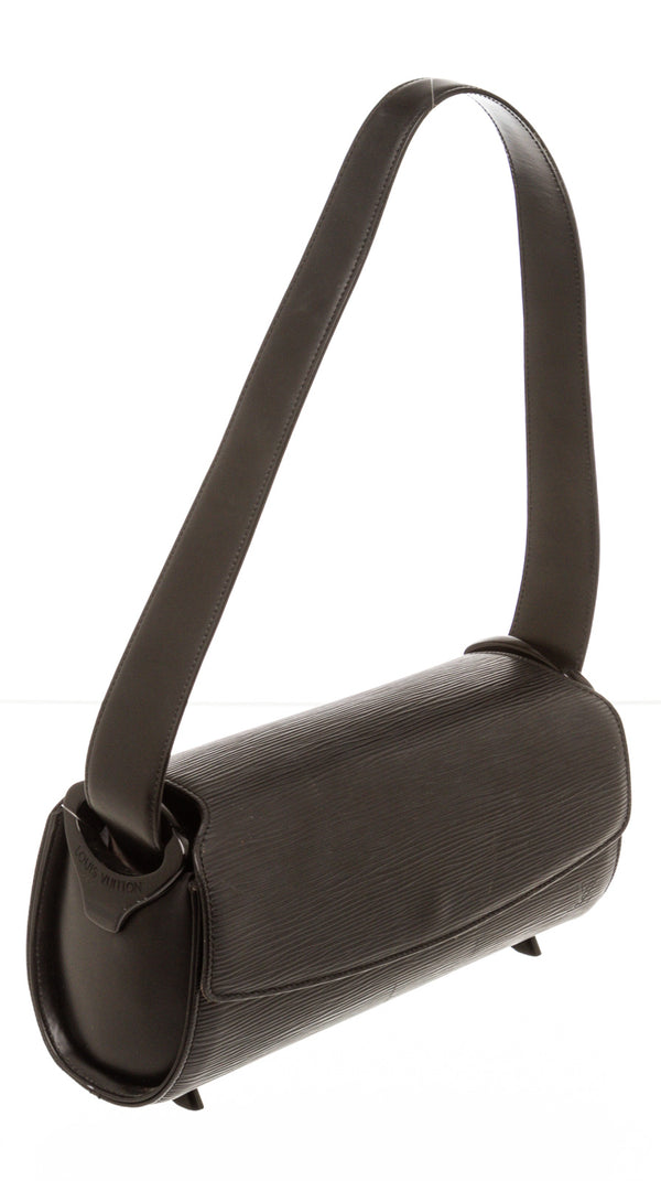 Louis Vuitton Black Epi Leather Nocturne Shoulder Bag