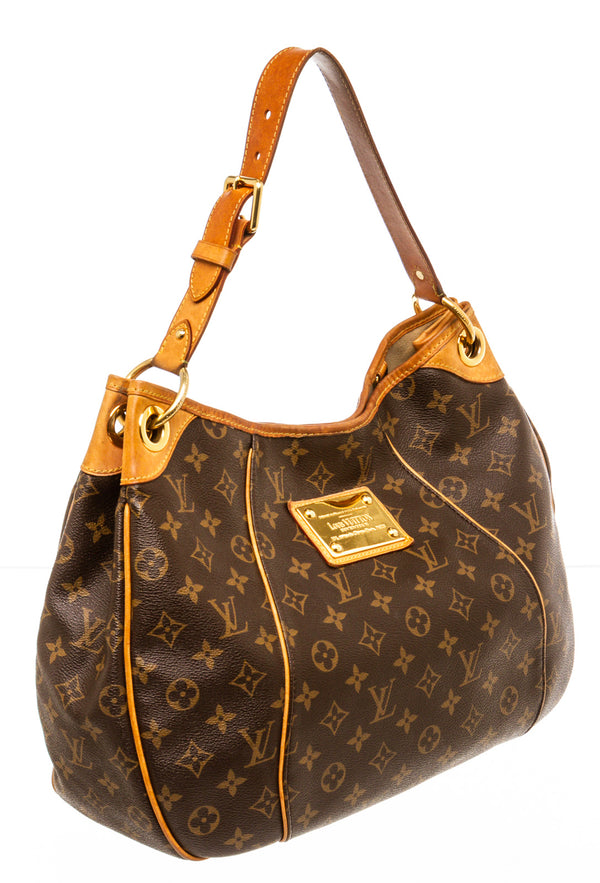 Louis Vuitton Brown Monogram Galliera Hobo Bag