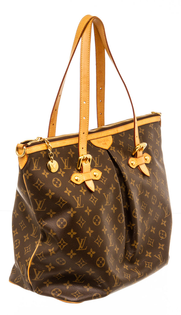 Louis Vuitton Brown Monogram Palermo GM Tote Bag