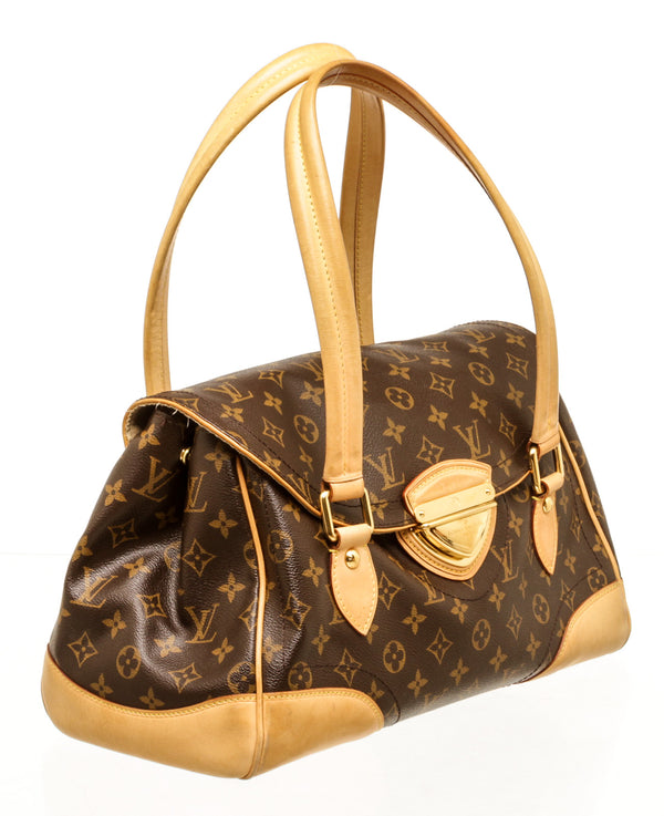 Louis Vuitton Monogram GM Beverly Double Handle Bag