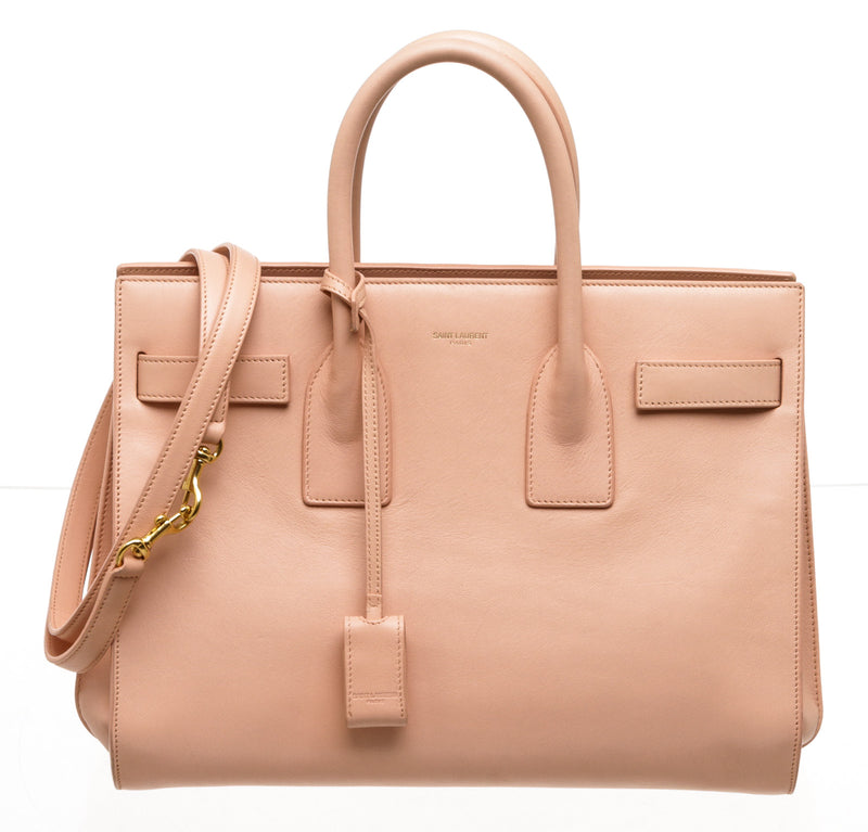 Saint Laurent Pink Sac Du Jour