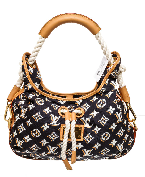 Louis Vuitton Navy Bulles MM Handbag