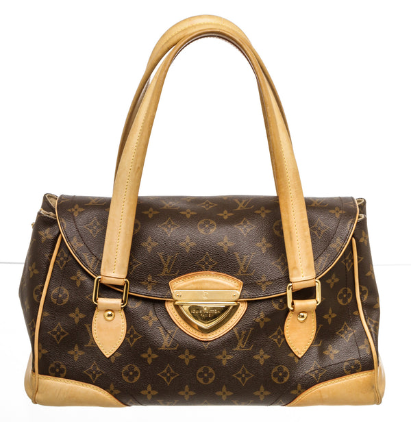 Louis Vuitton Brown Monogram Beverly GM Shoulder Bag