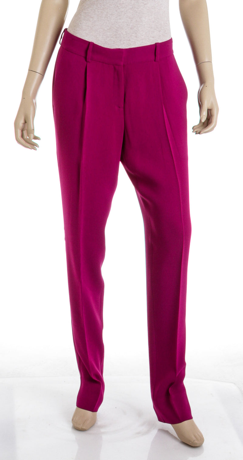 Diane Von Furstenburg Purple Slacks (Size 6)