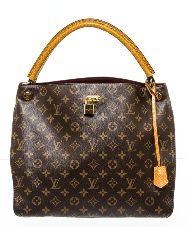 Louis Vuitton Monogram Gaia with Ostrich and Lizard