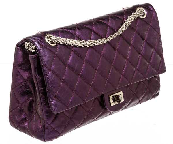 Chanel 2.55 Reissue Classic Flap 226 Medium Violet Lambskin