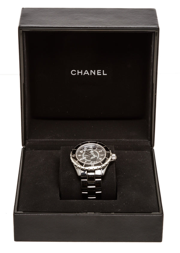 Chanel Limited Edition Mademoiselle Coco J12 Ceramic Watch
