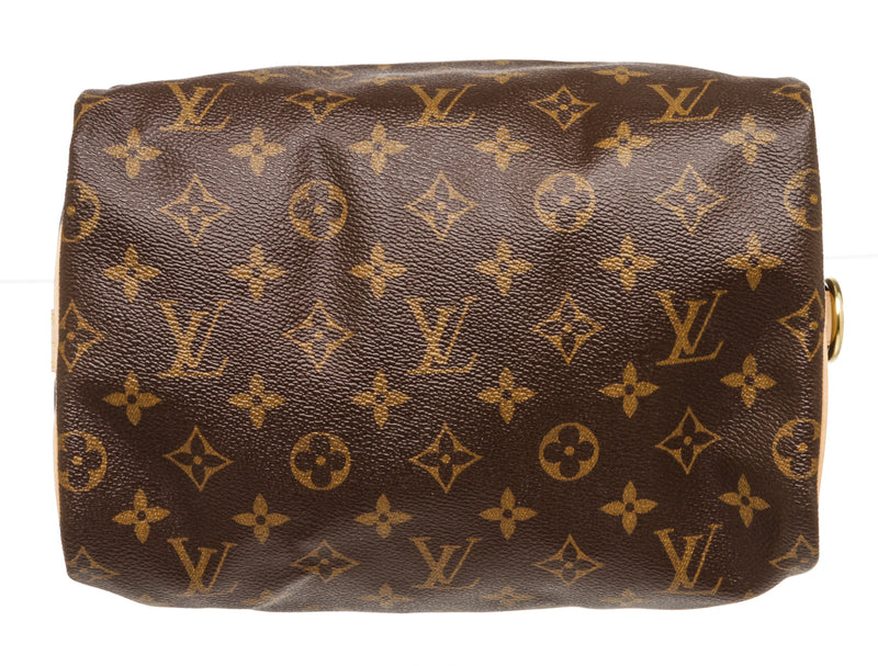 Louis Vuitton Brown Monogram 25 Bandoulier Speedy Handbag