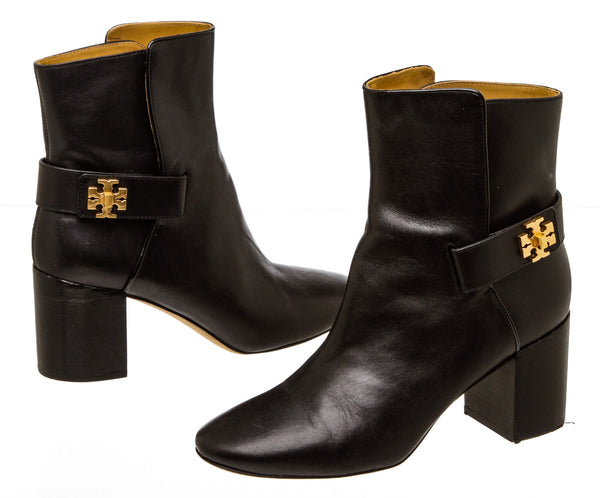 Tory Burch Black Leather 'Kira' Bootie (SIze 8.5)
