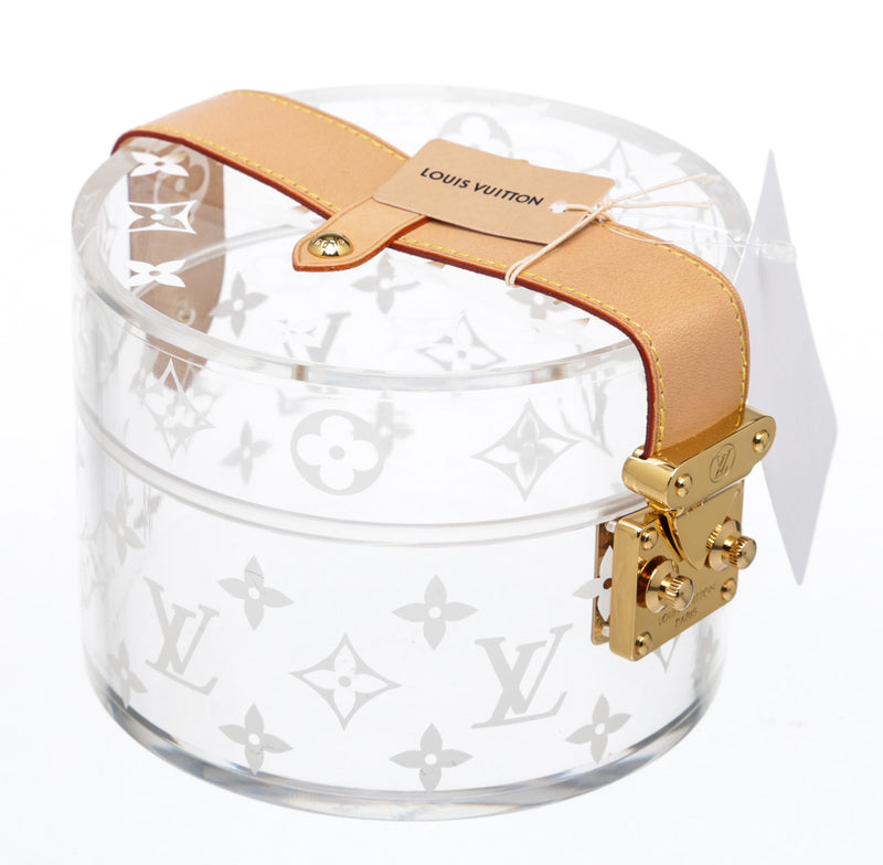 Louis Vuitton Clear Transparent Plexiglass Box Scott