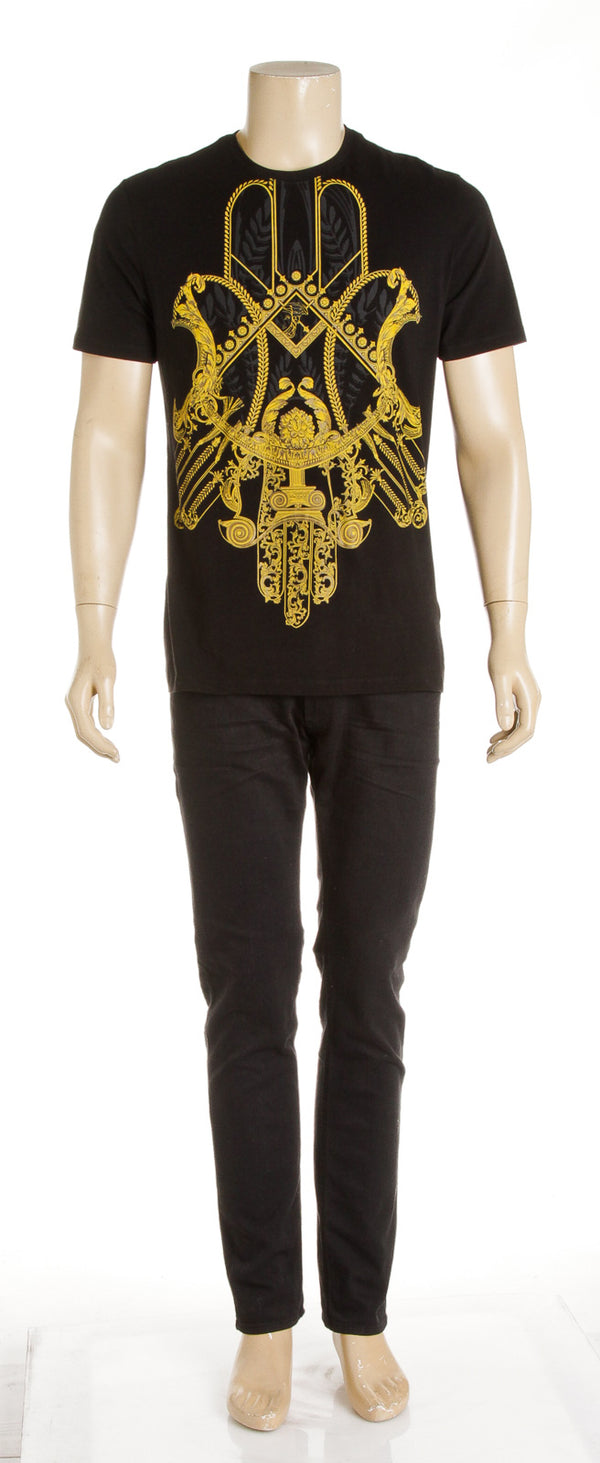 Versace Collection Black Baroque Tee (XL)