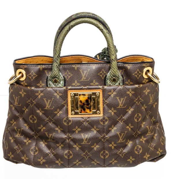 Louis Vuitton Brown Monogram Etoile Exotique MM Tote Bag