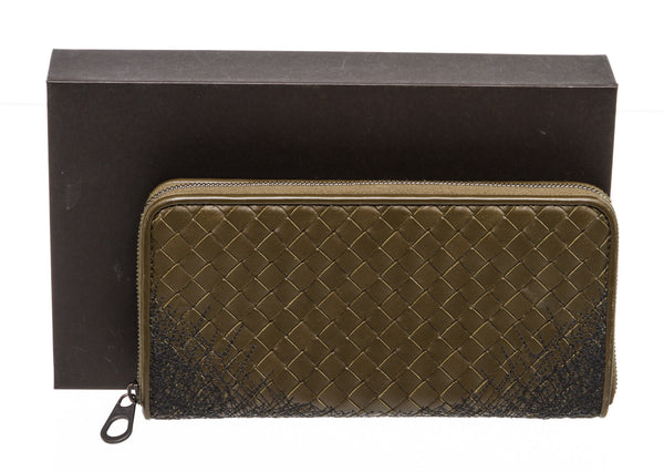 Bottega Venetta Zip Long Wallet