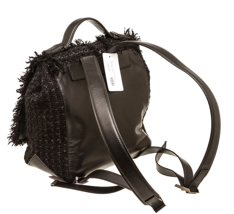 Proenza Schouler Black Tweed Backpack