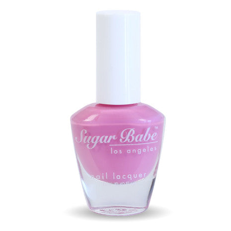 Sugar Babe Los Angeles BEVERLY HILLS Barbie Pink Nail Polish Lacquer