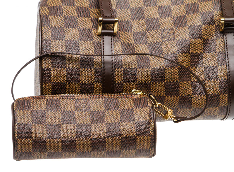 Louis Vuitton Brown Damier Ebene Papillon 30 with Mini
