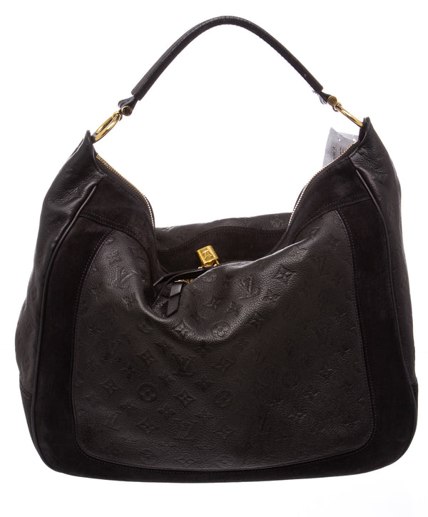 Louis Vuitton Navy Blue Empreinte Audacieuse Hobo