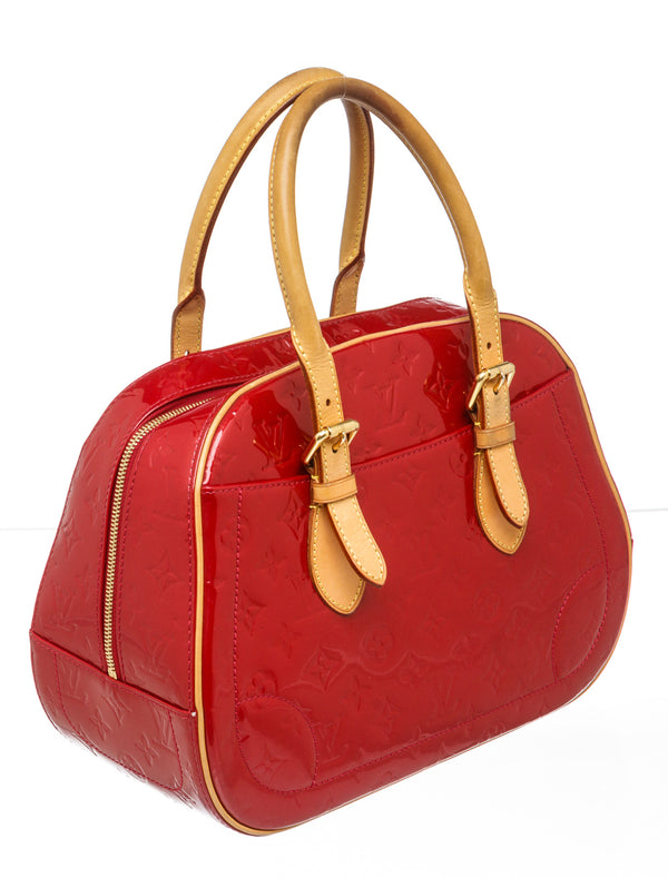 Louis Vuitton Pomme D'Amour Vernis Summit Drive Handbag