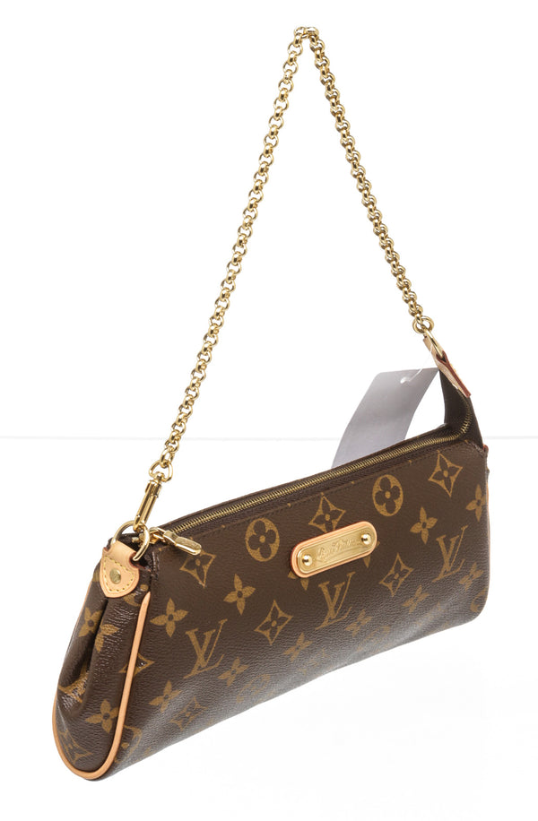 Louis Vuitton Brown Monogram Eva Clutch/Crossbody Bag
