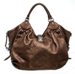 Louis Vuitton Bronze Mahina Leather XL Hobo