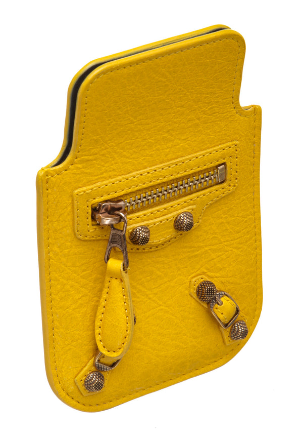 Balenciaga Yellow Arena Giant iPhone Cover
