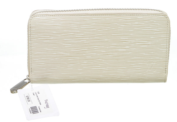 Louis Vuitton Cream Epi Leather Zippy Wallet