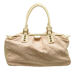 Louis Vuitton Pink Mini Lin Trapeze GM Handbag