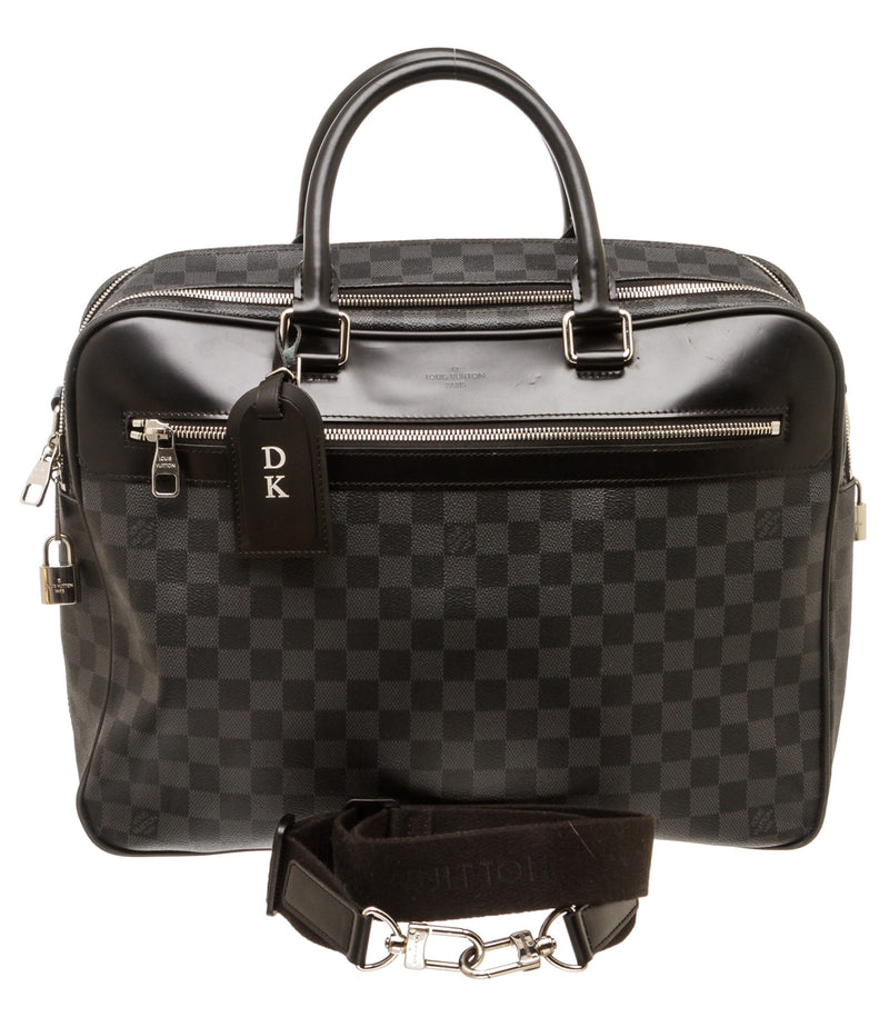 Louis Vuitton Damier Graphite 'Overnight' Briefcase