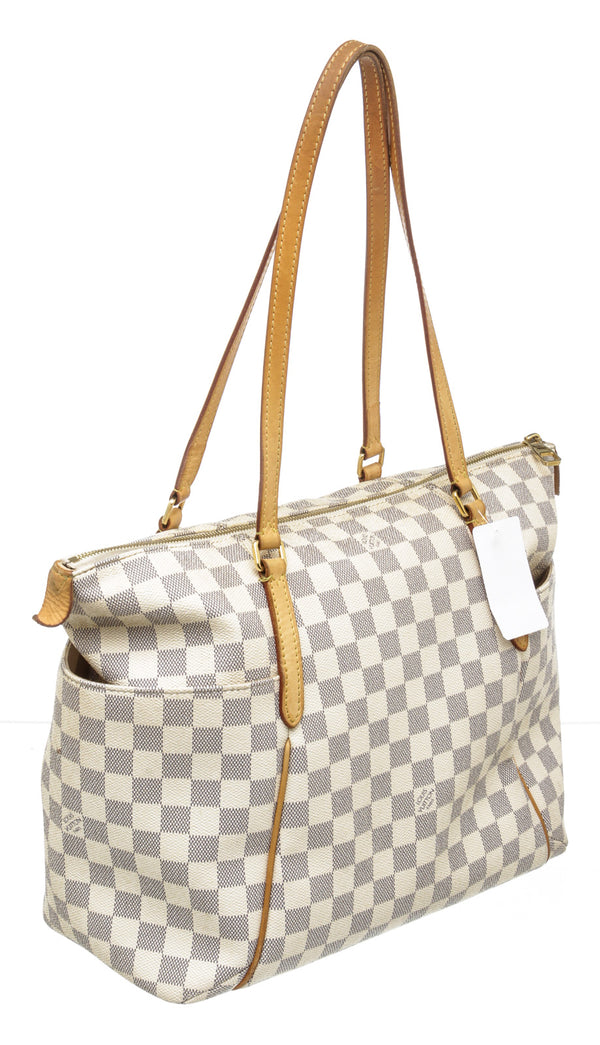 Louis Vuitton Damier Azur Totally MM Tote Bag