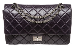 Chanel Purple Calfskin Reissue 2.55 Flap 227 Bag