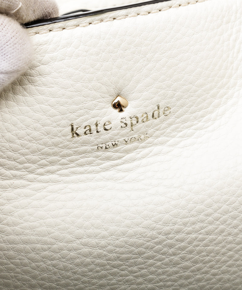 Kate Spade Parchment Pebbled Leather Tote Bag