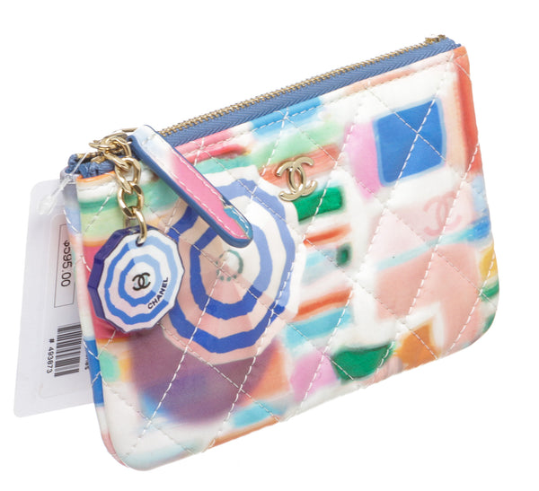 Chanel Multicolor Patent Coin Purse
