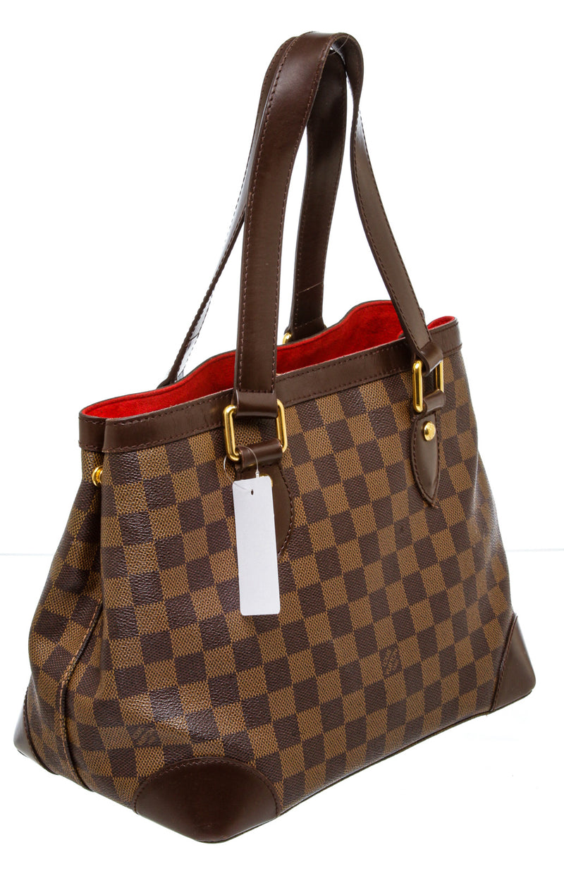 Louis Vuitton Brown Damier Ebene Hampstead Bag