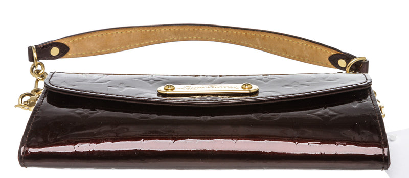 Louis Vuitton Amarante Vernis Sunset Boulevard Clutch