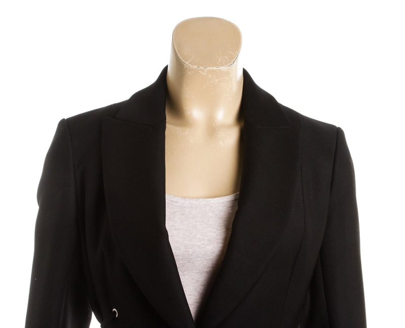Christian Dior Black Wool Blazer (Size 38)