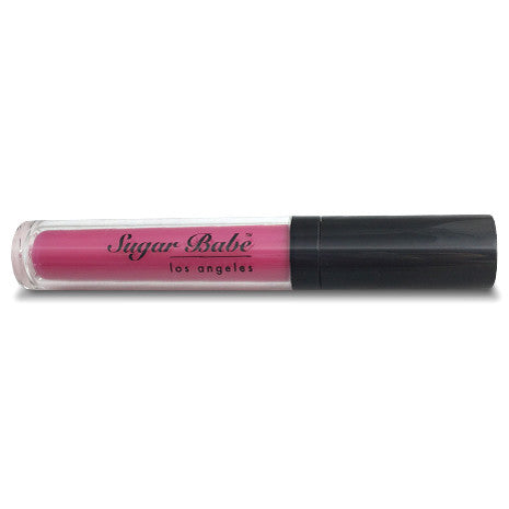 Sugar Babe Los Angeles SHOWGIRL Hot Pink Lip Lacquer