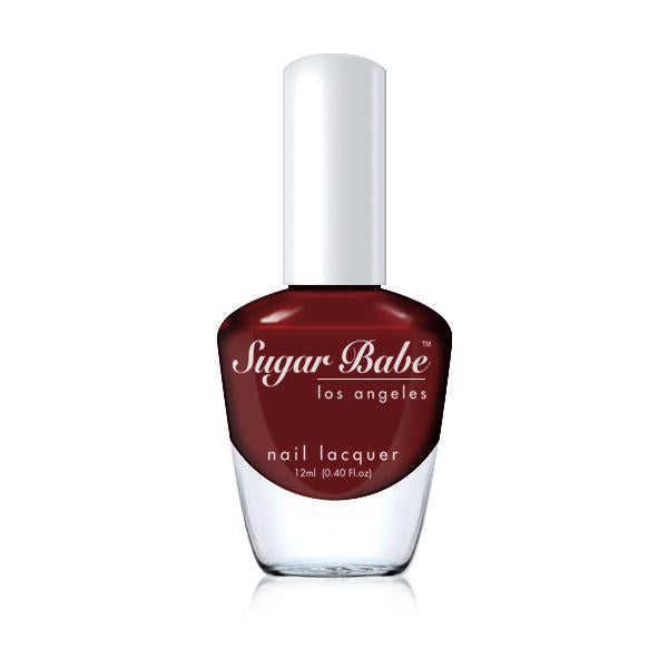 Sugar Babe Los Angeles WILSHIRE Red Lava Nail Polish Lacquer