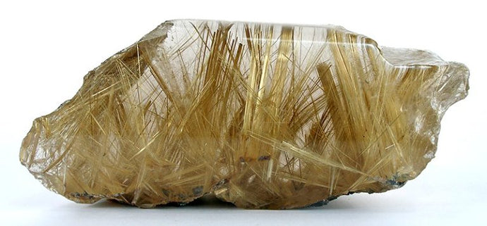Rutilated and Tourmalinated Quartz