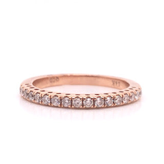Rose Gold Diamond Stack Ring