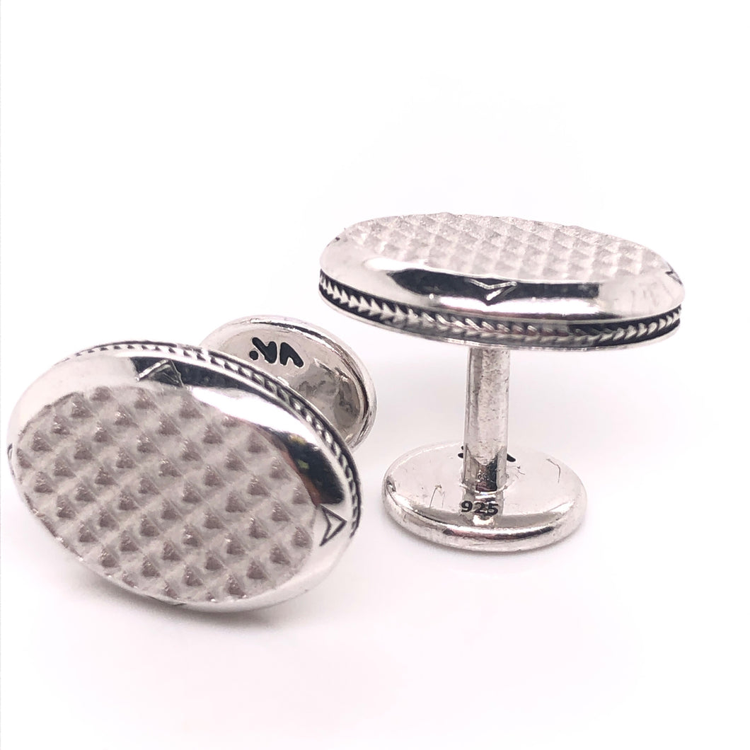 Crystal Cut Cufflinks - CaleesiDesigns