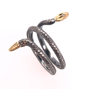 Europa Snake Ring - CaleesiDesigns