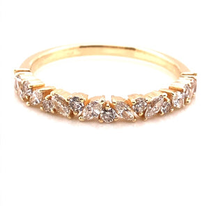 Drift Diamond Band - CaleesiDesigns