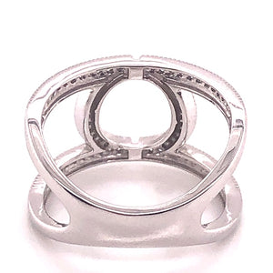 Negative Space Geometric Ring - CaleesiDesigns