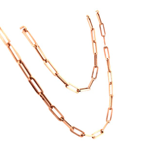 Rose Gold Boyfriend Chain