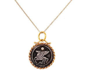 Perseus necklace- Custom Caleesi design- Austin, Texas