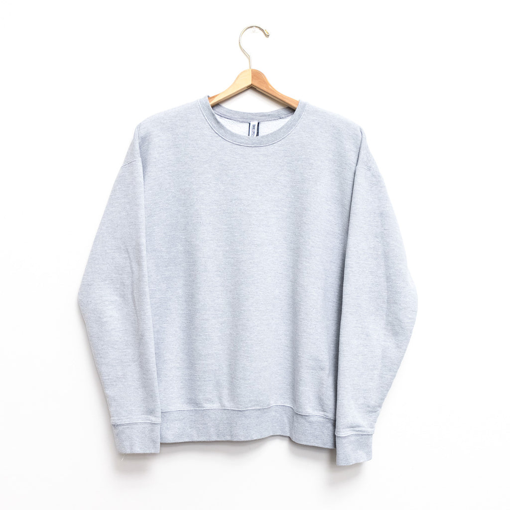 Journey Men's Fleece Crew Neck Sweatshirt - Heather Grey